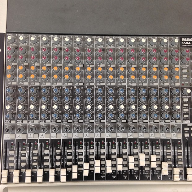 Mackie 1604 Vlz3 Compact Mixer Reverb