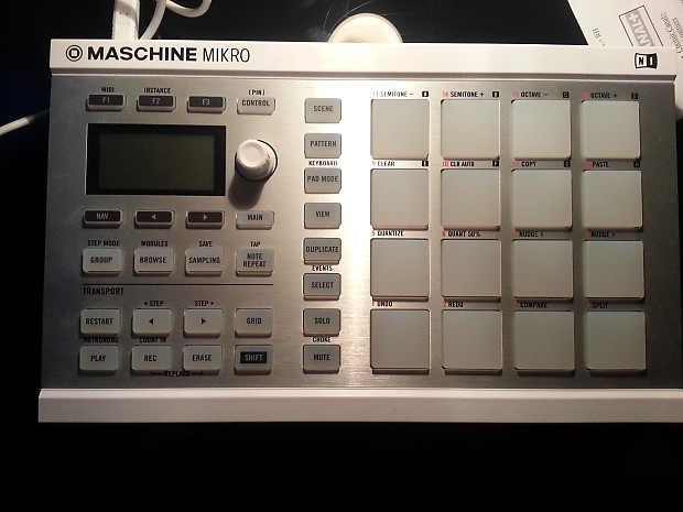 ni maschine mikro mkii white controller only reverb. Black Bedroom Furniture Sets. Home Design Ideas