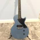 Gibson Les Paul Junior 2011 Pelham Blue Metallic Ebony Fret board image