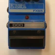 DOD Digitech FX65 Stereo Analog Chorus Rare Vintage Guitar Effect Pedal image