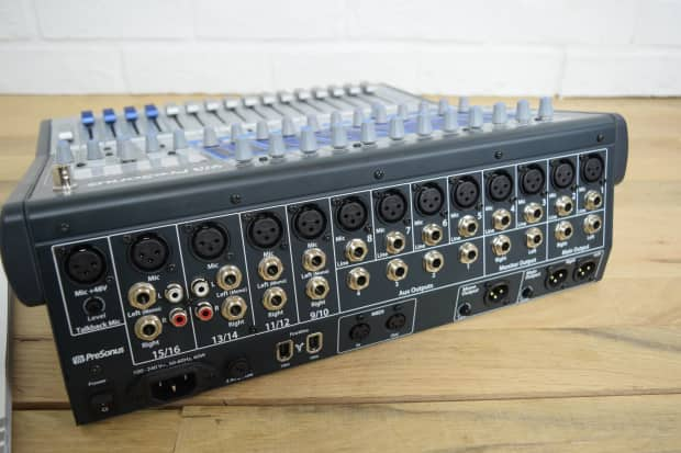 presonus studiolive16 0 2 digital mixing console mint used reverb. Black Bedroom Furniture Sets. Home Design Ideas