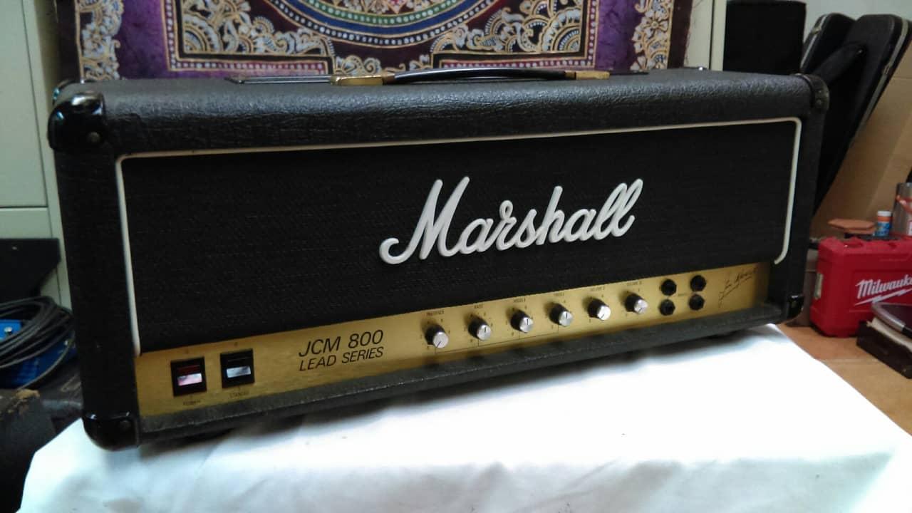 1981 marshall jcm800 100w 1959 super lead early rare reverb. Black Bedroom Furniture Sets. Home Design Ideas