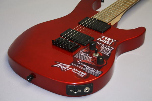 peavey at 200 candy apple red auto tune antares guitar free shipping reverb. Black Bedroom Furniture Sets. Home Design Ideas