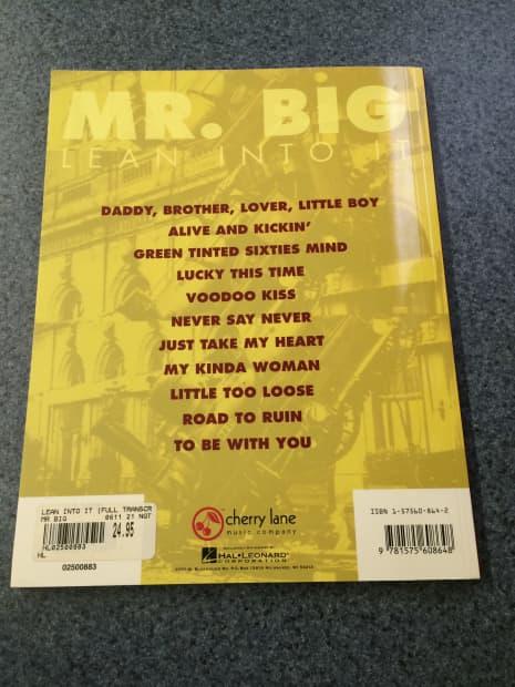 mr big tab book pdf