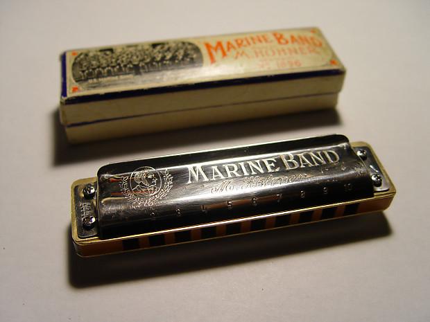 vintage hohner marine band harmonica key a customized reverb. Black Bedroom Furniture Sets. Home Design Ideas