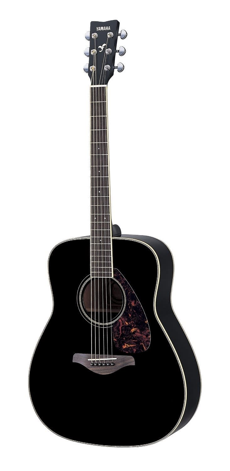 Yamaha fg720s solid spruce top dreadnought acoustic guitar for Yamaha solid top