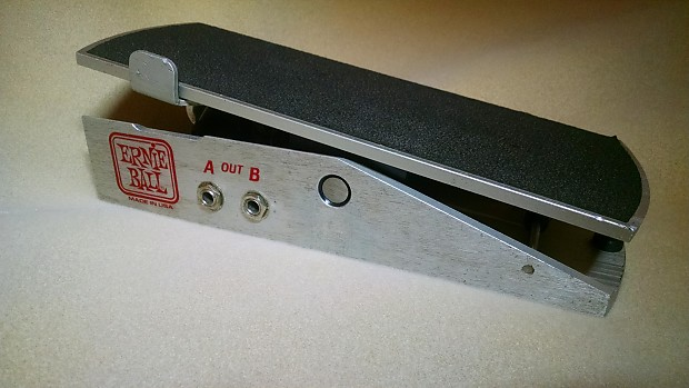 Ernie Ball Stereo Volume Pan Pedal Vintage Silver Reverb