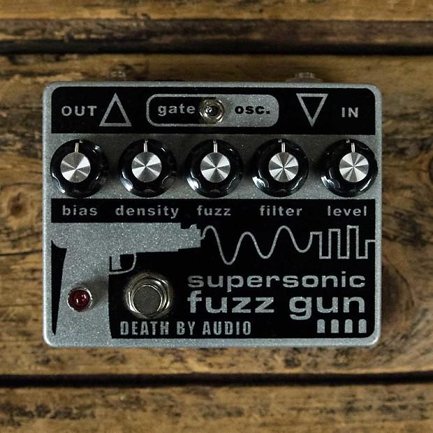 death by audio supersonic fuzz gun reverb. Black Bedroom Furniture Sets. Home Design Ideas