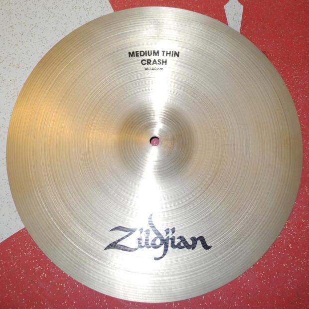 avedis zildjian 16 a medium thin crash drum cymbal a0230 reverb. Black Bedroom Furniture Sets. Home Design Ideas