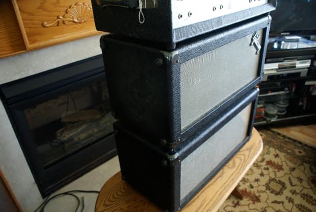 Gibson Gss 100 1968 Black Grey Tolex