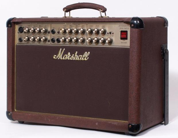 marshall acoustic guitar amp as80r 80 watt w mic imput reverb. Black Bedroom Furniture Sets. Home Design Ideas