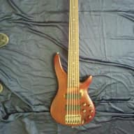 <p>Ibanez SR506 Brown Mahogany Fretless Bass</p>  for sale