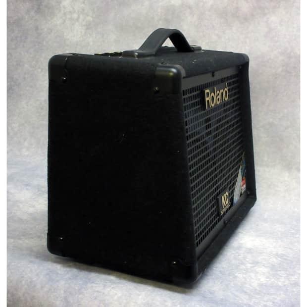 roland kc 110 battery powered keyboard amplifier black reverb. Black Bedroom Furniture Sets. Home Design Ideas