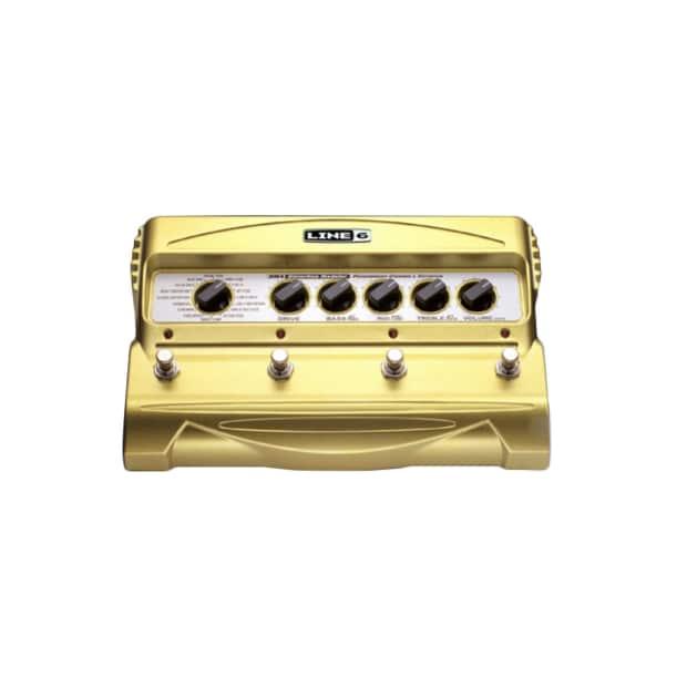 Line 6 DM4 Distortion Modeler Yellow Manufacturer   Reverb
