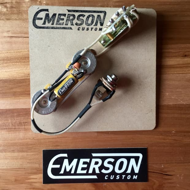 emerson custom thinline telecaster wiring harness (4-way ... custom fender telecaster wiring diagram telecaster wiring diagram emerson