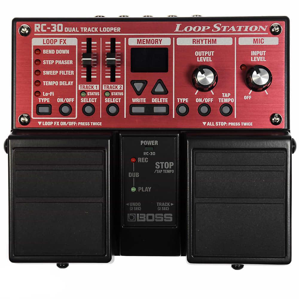 boss rc 30 loop station effects pedal reverb. Black Bedroom Furniture Sets. Home Design Ideas
