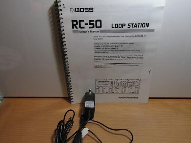 boss rc 50 loop station manual