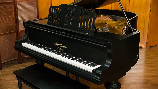 Bluthner art case grand piano made in germany 1922 for Grandi case a un piano
