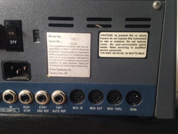 emu sp 12 turbo analog sampler filter drum machine sampling reverb. Black Bedroom Furniture Sets. Home Design Ideas