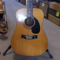 <p>Alvarez 12 String Acoustic/Electric Model 5021 1970s Natural</p>  for sale