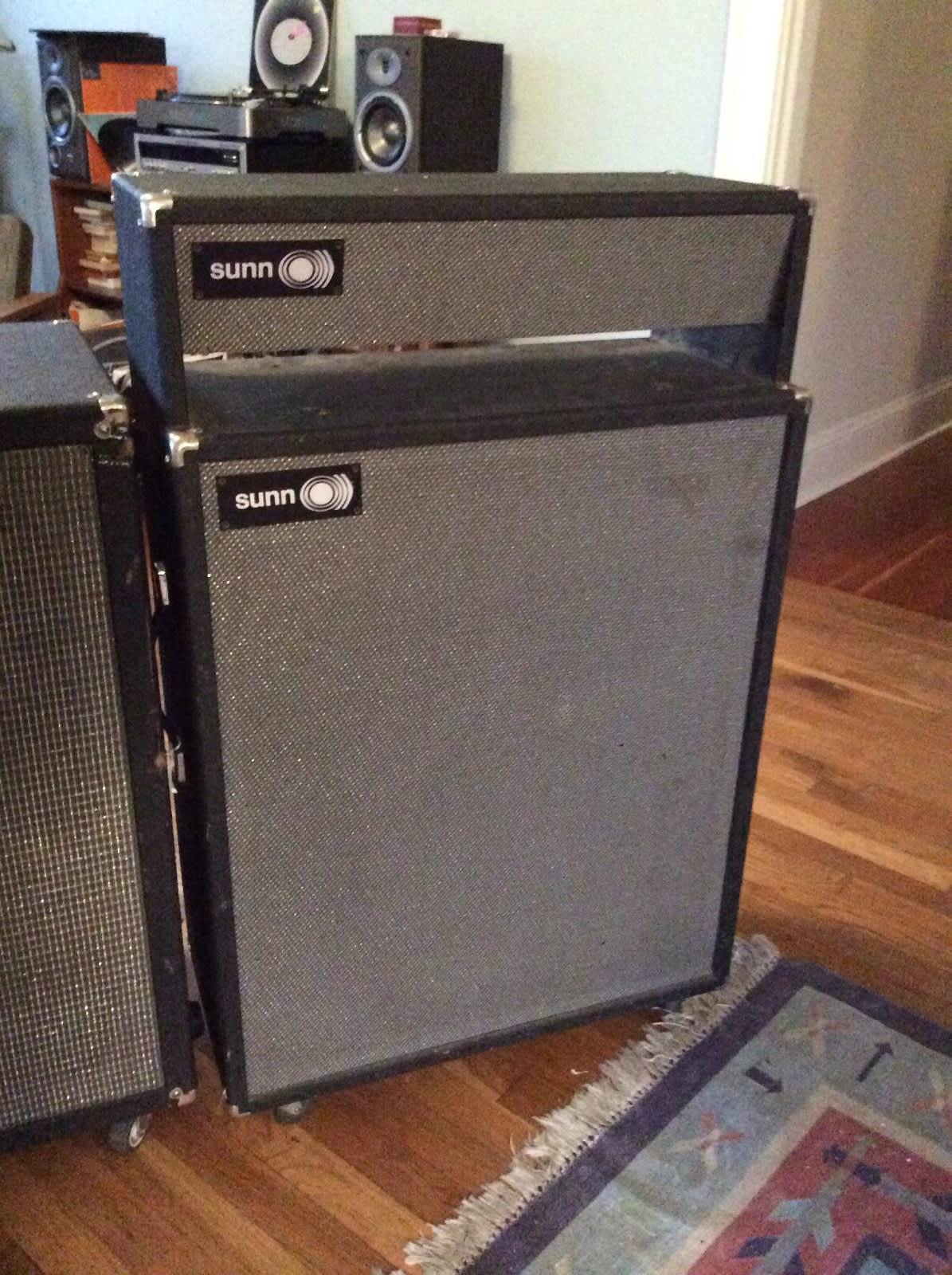 sunn 0 115 combo amp speaker cabinet 1967 for sorado reverb