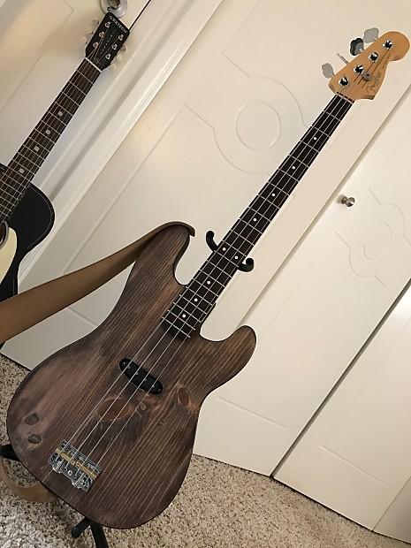 Deluxe Auto Parts >> Fender + Custom Slab Body 51 Precision Bass   Reverb