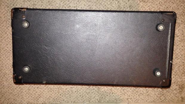 peavey 1x12 guitar speaker cabinet 8 ohm sheffield speaker reverb. Black Bedroom Furniture Sets. Home Design Ideas