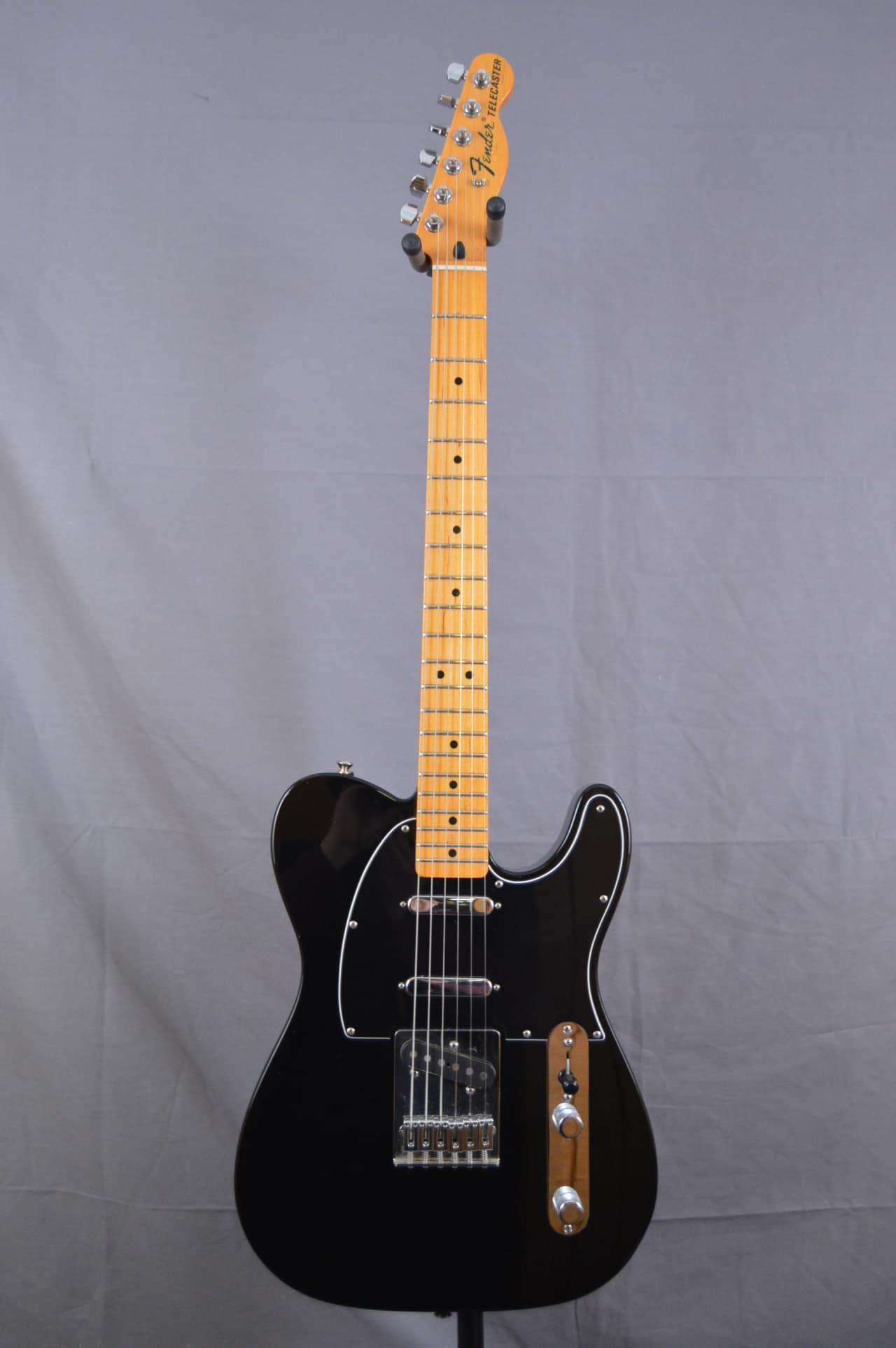 Fender Telecaster Made in Mexico 3 Pickups. Black | Reverb