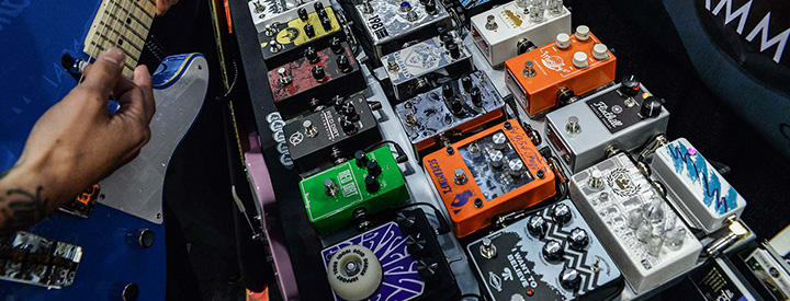 Effects & Pedal News from Winter NAMM 2017