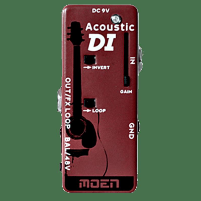moen mn ac di acoustic guitar direct box with volume mini di reverb. Black Bedroom Furniture Sets. Home Design Ideas