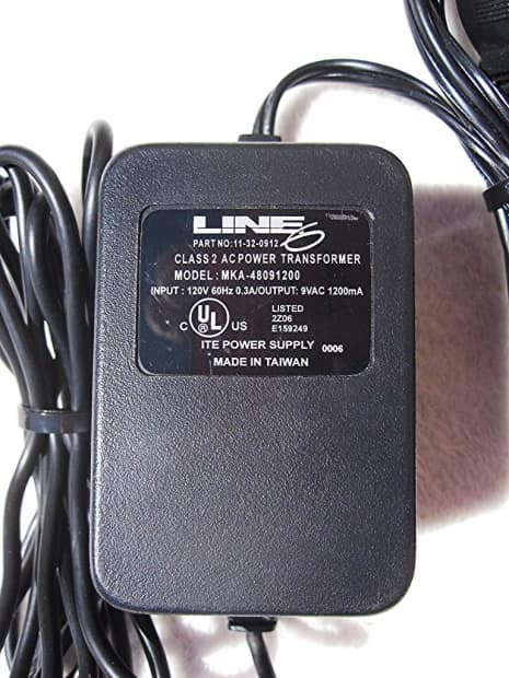 line 6 original pod guitar multi effects processor with power reverb. Black Bedroom Furniture Sets. Home Design Ideas