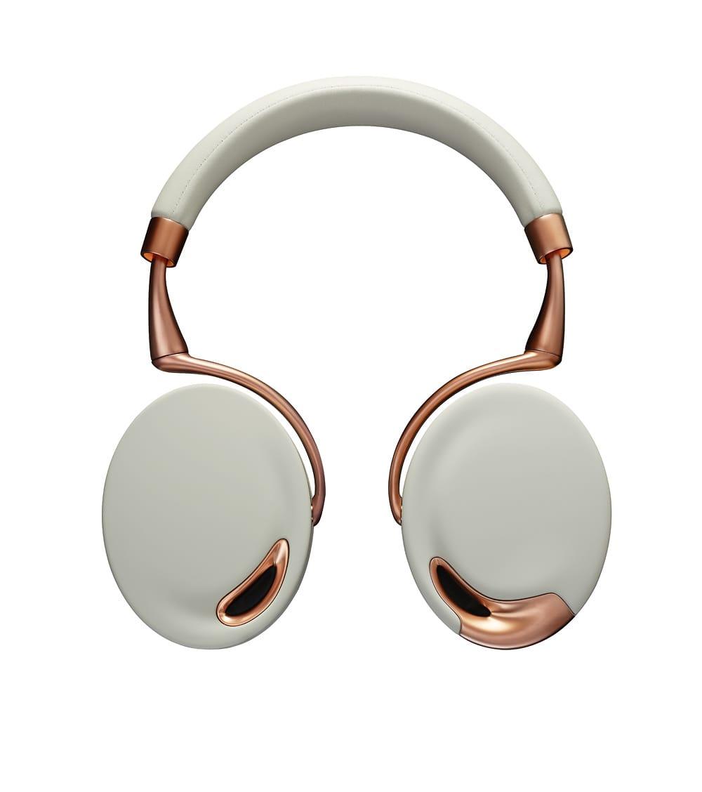 parrot zik bluetooth over ear headphones rose gold reverb. Black Bedroom Furniture Sets. Home Design Ideas