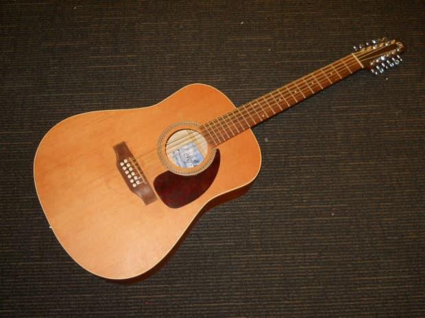 seagull s12 s series 12 string acoustic guitar reverb. Black Bedroom Furniture Sets. Home Design Ideas