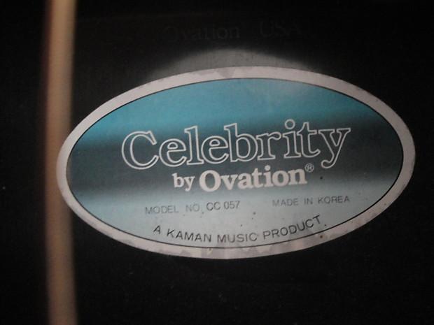Celebrity cc 057 ovation guitar