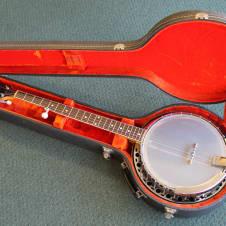 Fender Allegro 1088 5-string Banjo 60's-70's 3 Tone Sunburst image
