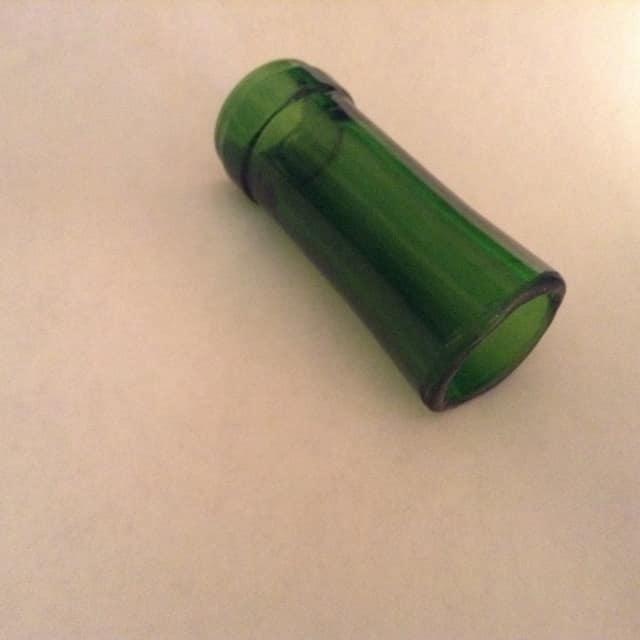 Glass Bottle Neck Slide ( Green ) image