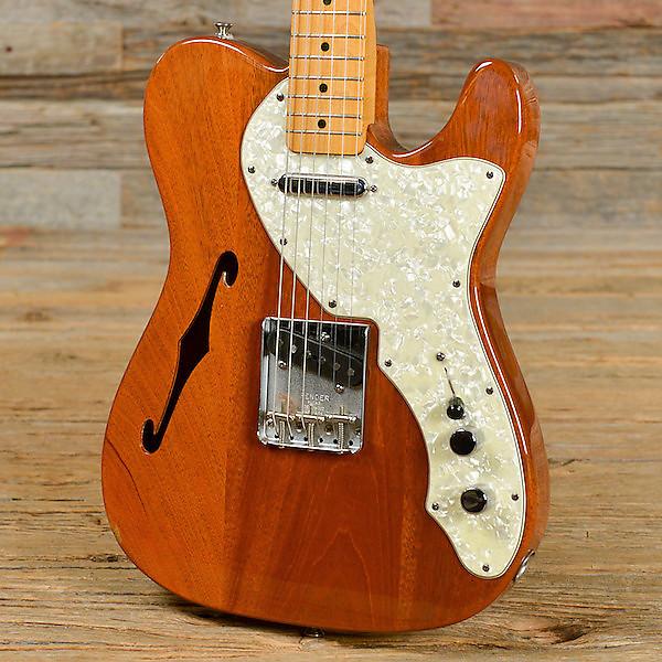 fender telecaster thinline electric guitar reverb. Black Bedroom Furniture Sets. Home Design Ideas
