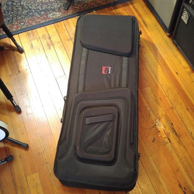 wolfpak electric guitar polyfoam case reverb. Black Bedroom Furniture Sets. Home Design Ideas