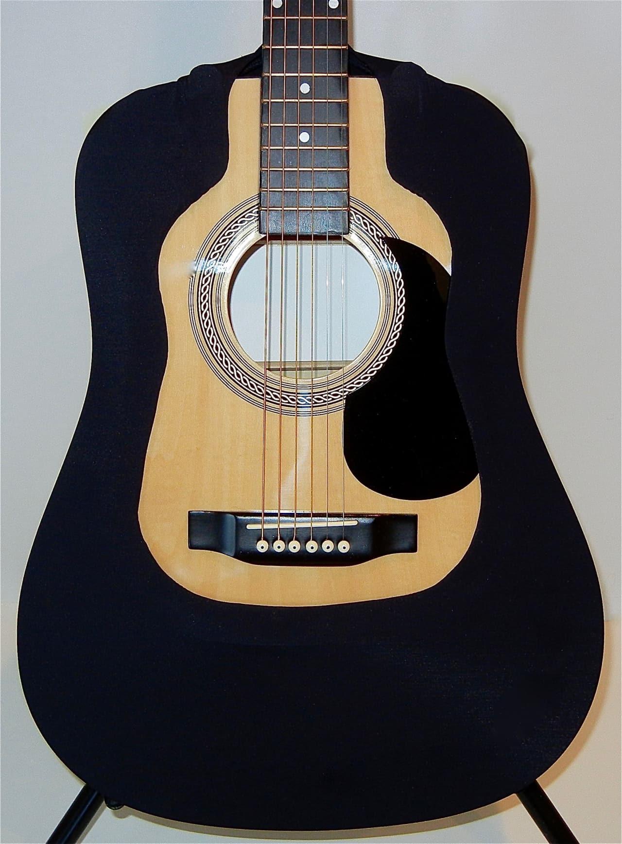 acoustic guitar cover vest black dread fits martin reverb. Black Bedroom Furniture Sets. Home Design Ideas