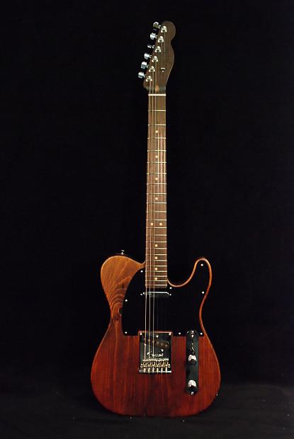 Fender Reclaimed Eastern Pine Telecaster 174 Dark Stain Reverb