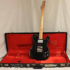 "Fender Telecaster Custom ""Keith Richards"" 1975 Black image"
