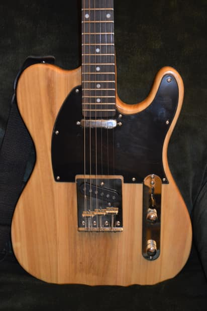 Cozart Telecaster Style Clear Laquer Guitar Special