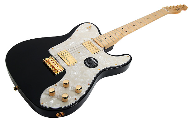 920D Fender Standard Tele Deluxe Duncan Gold Pearly Gates