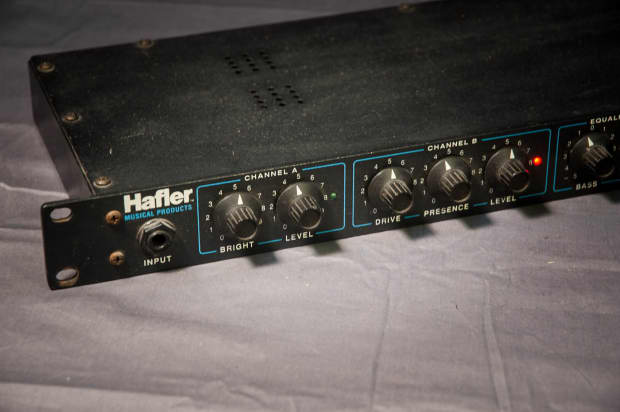 hafler t2 guitar tube preamp rack mount processor reverb. Black Bedroom Furniture Sets. Home Design Ideas
