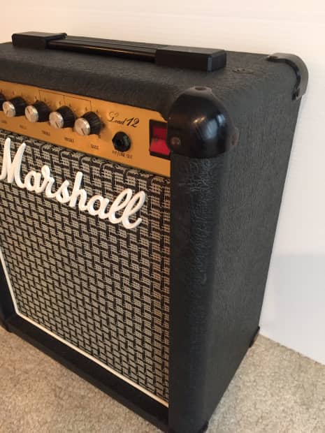 marshall 5005 lead 12 guitar combo amp with 12 celestion reverb. Black Bedroom Furniture Sets. Home Design Ideas