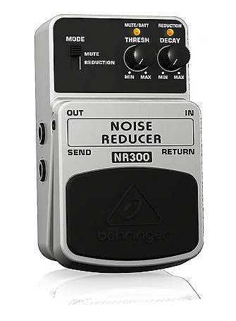 how to use behringer noise reducer
