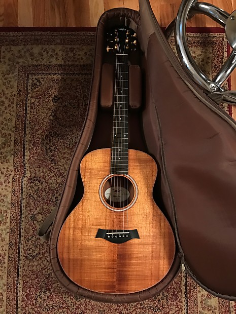 taylor gs mini e koa 2015 with gold gotoh 510s excellent reverb. Black Bedroom Furniture Sets. Home Design Ideas