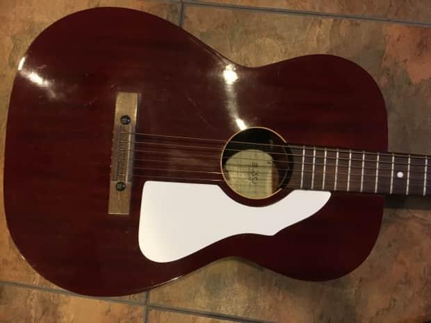 vintage 1960s eko acoustic guitar made in italy mahogany nice reverb. Black Bedroom Furniture Sets. Home Design Ideas