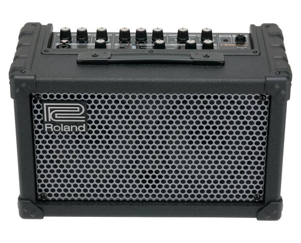 roland cube street 2 channel amplifier battery powered guitar portable amp reverb. Black Bedroom Furniture Sets. Home Design Ideas