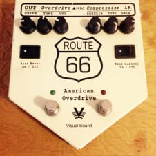 Visual Sound  Route 66 Overdrive and Comp White image